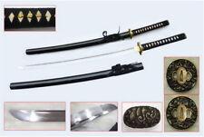 "RYUJIN 40.5"" 1060 Hand Forge Japanese Samurai Katana Shinogi Zukuri Real Hamon"