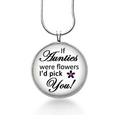 Auntie Love Necklace - Family - Aunt Gift - Gifts fo Her - Jewelry