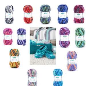 Gründl Filzwolle color 50 g Schurwolle strickfilzen Hausschuhe Taschen