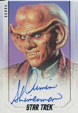 Star Trek Inflexions Autograph Card Armin Shimerman as Quark (50th)