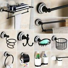 Black oil Rubbed Brass Bathroom Accessories Set Bath Hardware Towel Ba Pxz021