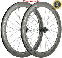 Superteam 60mm Disc Brake Carbon Wheels Road Bike Disc Brake Carbon Wheelset700C