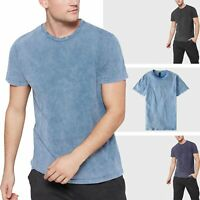 Mens Tri-Blend T-Shirts Short Sleeve Tee Casual Basic Gym Active Yoga Solid