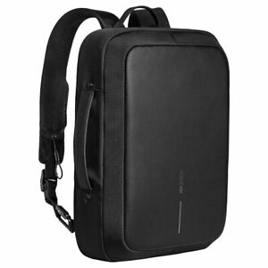XD Design Bobby Bizz Anti Theft Laptop Backpack and Briefcase with USB Port