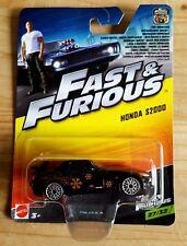 Hot Wheels / Mattel Honda S2000 schwarz  / Fast and Furious / Veilside Umbau /