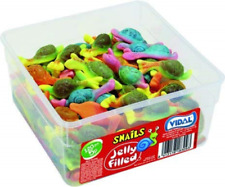 Vidal Snails Jelly Filled Sweets 120 Piece