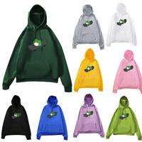 Womens Sweatshirt Skateboard Frog Printing Hoodie Pullover Tops Lady Cute Blouse