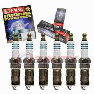 6 pc Denso Iridium Power Spark Plugs for 2009 Saturn Outlook 3.6L V6 uo