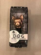 French Bulldog Bronze Color Wine Stopper