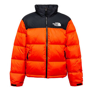 "THE NORTH FACE Mens ""1996 RETRO NUPTSE JACKET"" Flare Orange"
