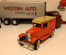 BUDDY L OL' BUDDY'S  PIE WAGON Pressed Steel Original Vintage Ford Delivery