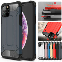 For iPhone 11 Pro X XR XS MAX 8 7 Plus Rugged Hybrid Shockproof Armor Case Cover