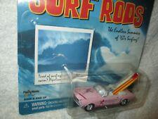1965 MUSTANG PINK SURF RODS BIKINI BEACH w/surf board 1/64 Johnny LIGHTNING 2001