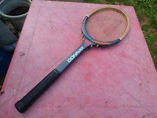 raquette de tennis vintage Dunlop Gold Wing en bois wooden
