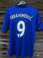 Manchester United Ibrahimovic #9 2016/17 Away Football Shirt S Jersey Man Utd