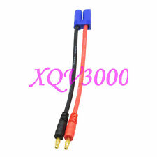 Ec5 Male to 4mm Banana Bullet Plug 12Awg 15Cm Lithium Battery Charging Wire