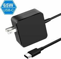 65W USB-C Type-C Adapter Laptop Charger Power Supply for Lenovo,Dell,HP,ASUS