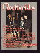 ROCKERILLA 57/1985 FUZZTONES GODARD BLASTERS CCCP VIDEOZONA ILLOGICO WARRIOR