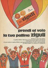 X4850 Prendi al volo la tua pallina ZIGULI - Pubblicità 1977 - Advertising