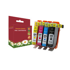 Compatible 4 Colour HP 364XL High Capacity Ink Cartridges