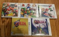 Nintendo 3DS Game Case And Manual Only Lot NO GAMES