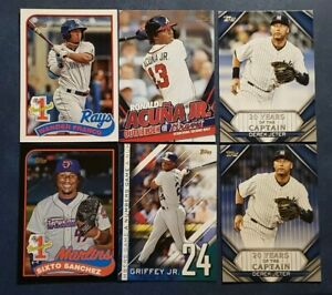 2020 Topps Update Inserts Numbers Game Prospects Jeter Acuna and More You Pick