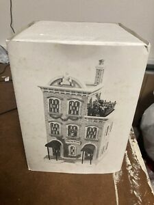 Dept 56 Ivy Terrace Apartments, Christmas In The City Series #5887-4 w/ Box