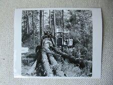 Ih International Crawler Logging Tractor Photo 8x10
