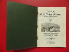 alter Katalog für Korkenzieher Nußknacker Küchengeräte Besteck um 1890 ( F 17254