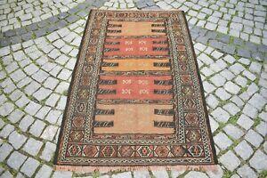 Caucasian Kilim Wool Rug 39'' x 62'' Caucasian Embroidered Weave Kilim Area Rug
