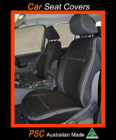 FRONT PAIR (2) PREMIUM WATERPROOF SEAT COVERS 100% Fit Nissan Navara NP300