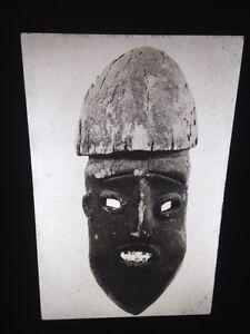 Widekum Face Mask: African Tribal Art Vintage 35mm Slide