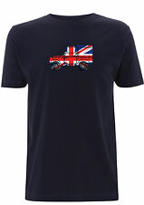 Series 1 Landrover t shirt Union Jack England defender off road Best of British