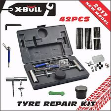 X-BULL 42PCS Tyre Puncture Repair Kit  Recovery Tool  Plugs Tube 4WD Heavy Duty