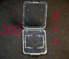 200x  1gb 2gb 4gb SanDisk  Sony Transcend SD HC flash Memory card case wholesale