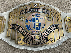 WWE Intercontinental Heavyweight Wrestling Championship Replica Title Belt White