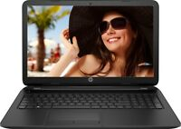 "HP 15.6"" Laptop Intel 2.16GHz 4GB 500GB DVD+RW WebCam HDMI Wireless Windows 10"