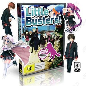 Little Busters Season 1 Part 2 DVD :  + Bonus Stickers : Brand New