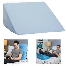 Memory Foam Wedge Pillow System Comfort Sleep Adjustable Bed Back Lumbar Support