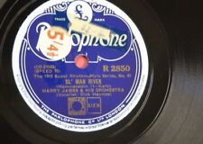 78rpm HARRY JAMES ol man river / nobody knows the trouble i`ve seen