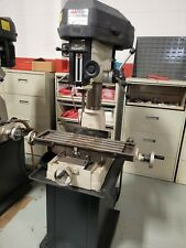 1 Phase Step Pulley Mill Drill Machine