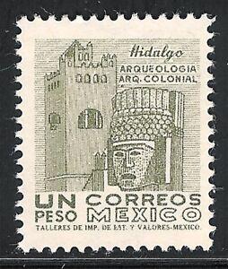 pa110a Mexico Arquite MNH paper 3 Sc#950 Mc#1144Xx Et#aa110a  olive