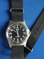 GENUINE CWC G10  MILITARY WATCH. BRITISH  ARMY ISSUE  GOOD CONDITION