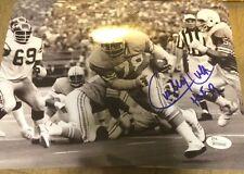 CURLEY CULP Autographed 8x10 Photo Houston Oilers JSA