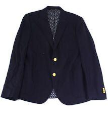 Gant NEW Blue Mens Size 50 Notch-Collar Two Button Wool Blazer $254- 291