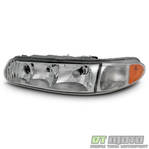 1997-2005 Buick Century 97-04 Regal Headlights Headlamps Replacement Driver Side