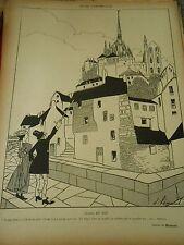 GM27 - Un Peu d'Archéologie Clair et Net Humour Print 1907