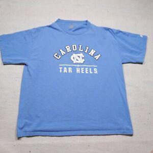 North Carolina Tar Heels Shirt Adult XL Blue Football NCAA Mens