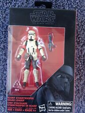 "Star Wars The Black 3.75"" Series SCARIF STORMTROOPER SQUAD LEADER Figure (#9)"