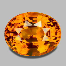 4.56CTS GIA CERTIFIED NATURAL CEYLON TOP YELLOWISH ORANGE SAPPHIRE WATCH VIDEO